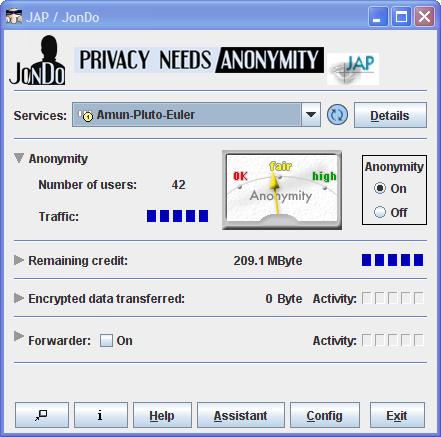 JAP – JonDo Anonymity Proxy